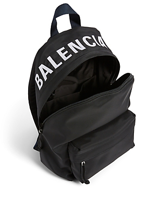 BALENCIAGA Small Wheel Nylon Backpack Women's Multi