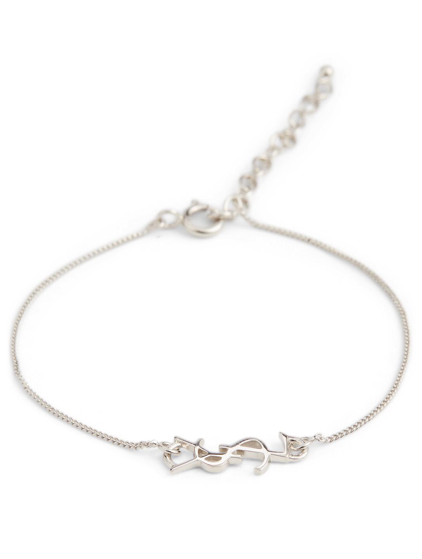9ce390ba10 SAINT LAURENT Small Opyum YSL Monogram Bracelet | Holt Renfrew