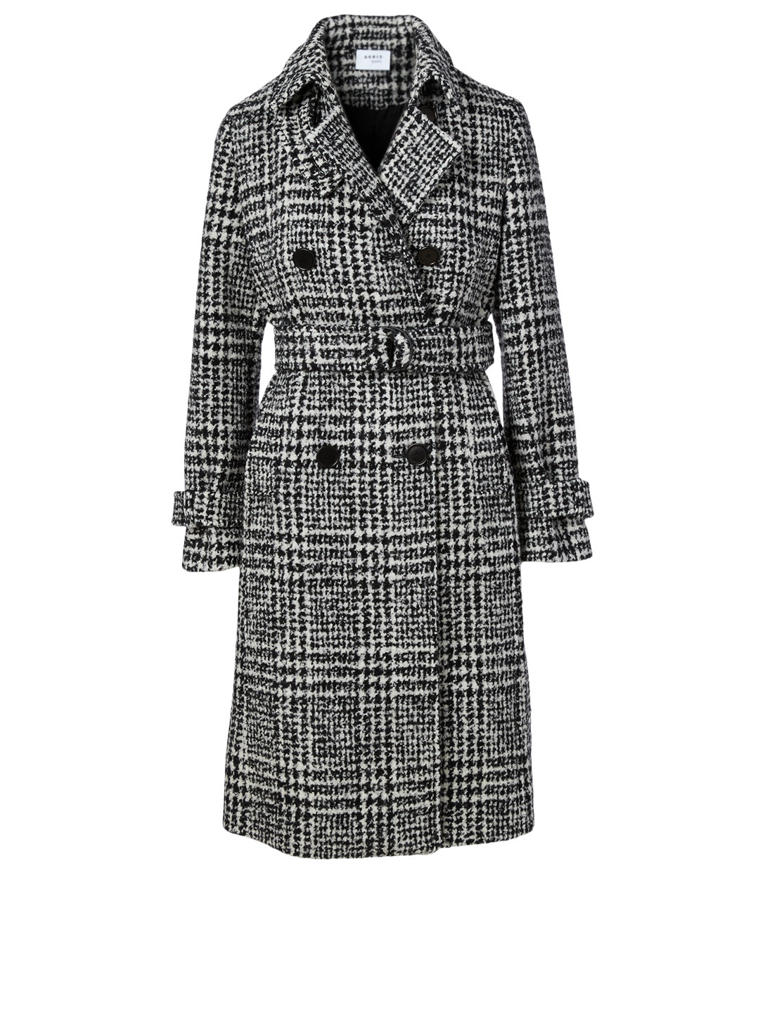buying cheap superior quality discount up to 60% AKRIS PUNTO Wool-Blend Trench Coat In Check Print | Holt Renfrew
