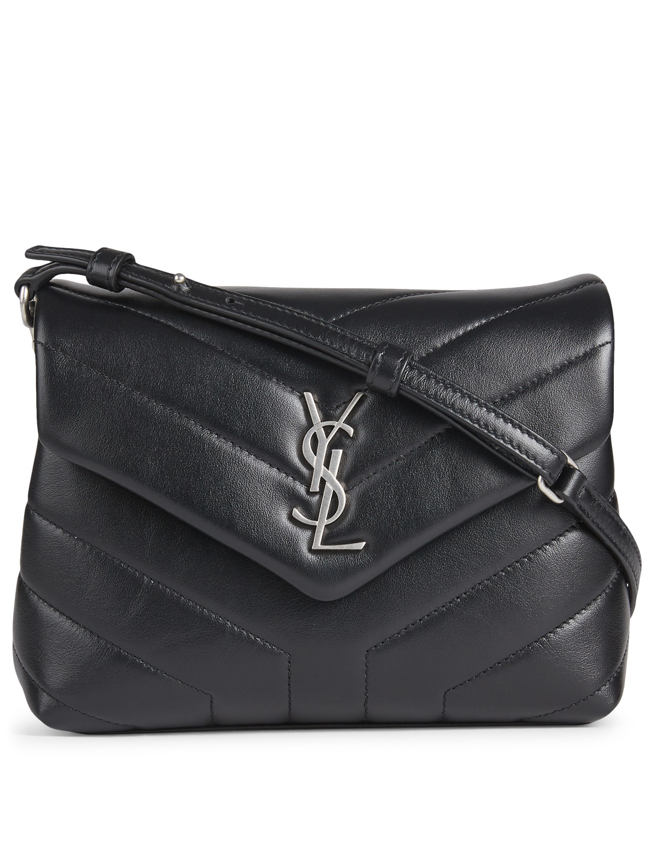 Saint Laurent Toy Loulou Ysl Monogram Leather Crossbody