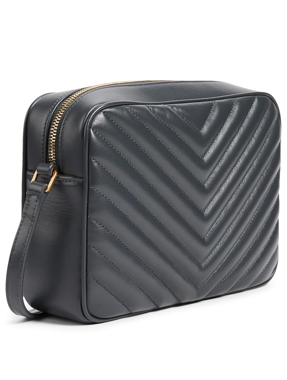 Saint Laurent Medium Lou Ysl Monogram Leather Camera Bag