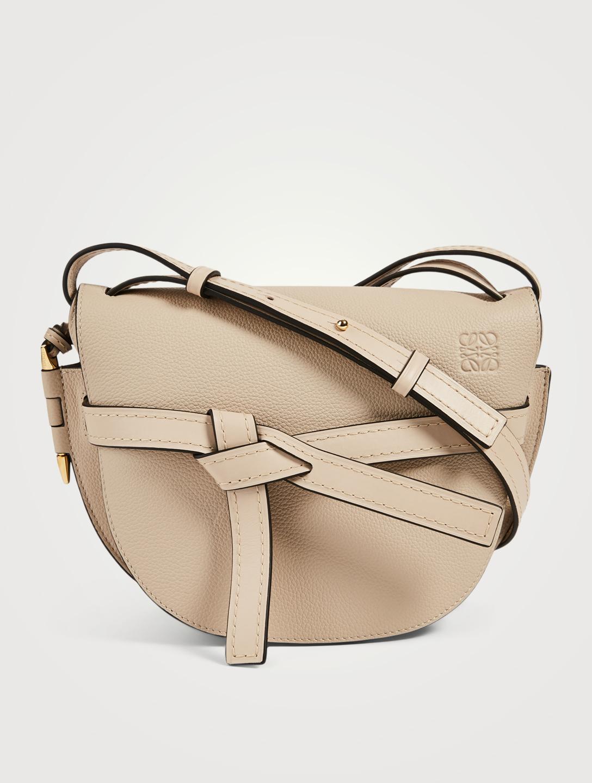 04cff9fd2 LOEWE Small Gate Leather Crossbody Bag Women's Neutral ...