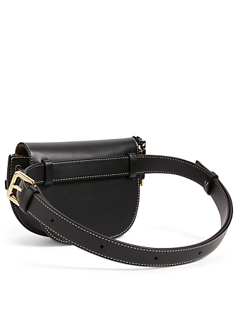 LOEWE Mini Gate Leather Belt Bag Women's Black