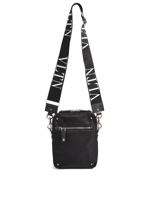 84309142f85f4 VALENTINO GARAVANI VLTN Nylon Crossbody Bag Men's Black ...