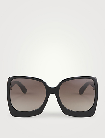 TOM FORD Emmanuella Square Optical Glasses Women's Black