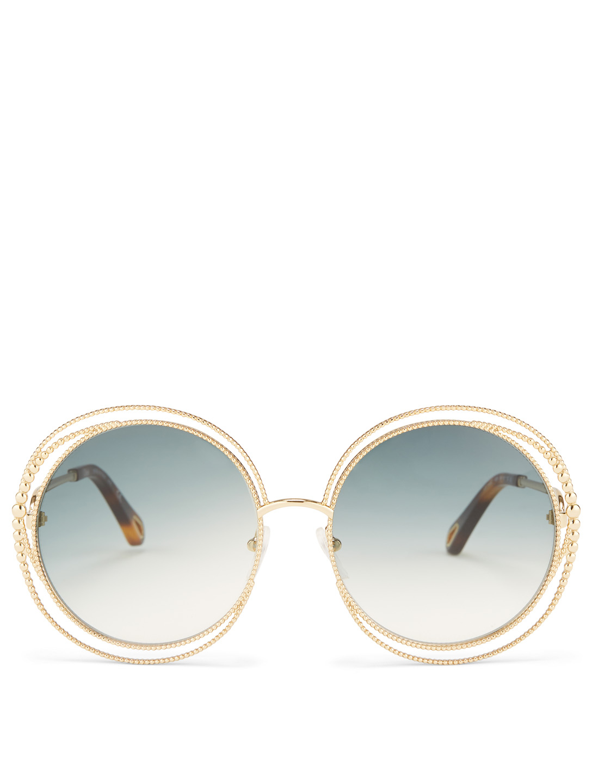 dc0bd71e CHLOÉ Carlina Chain Round Sunglasses | Holt Renfrew