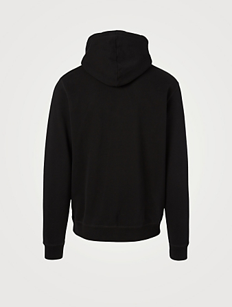SUNSPEL Cotton Loopback Overhead Hoodie Men's Black