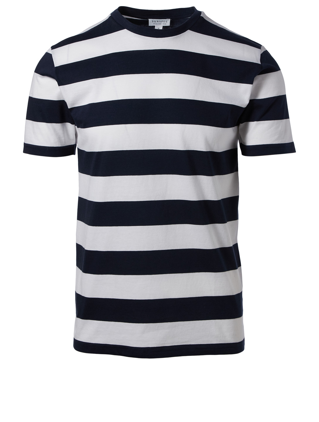 SUNSPEL Organic Cotton Striped T-Shirt Men's Multi