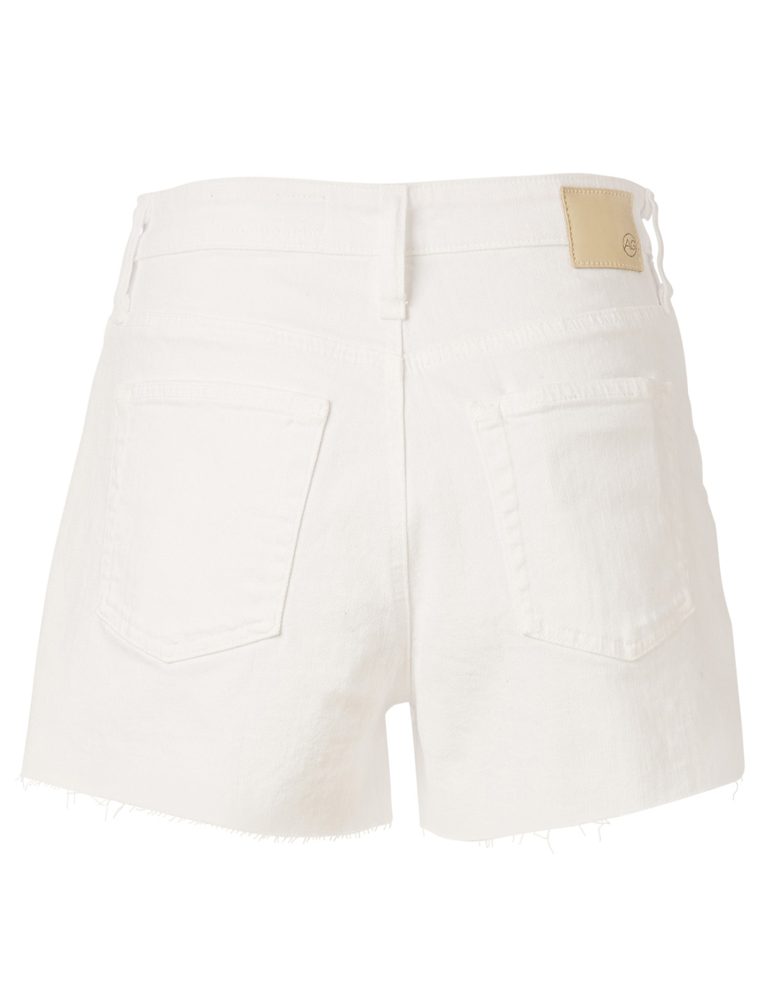 AG Mikkel High-Waisted Shorts Women's White
