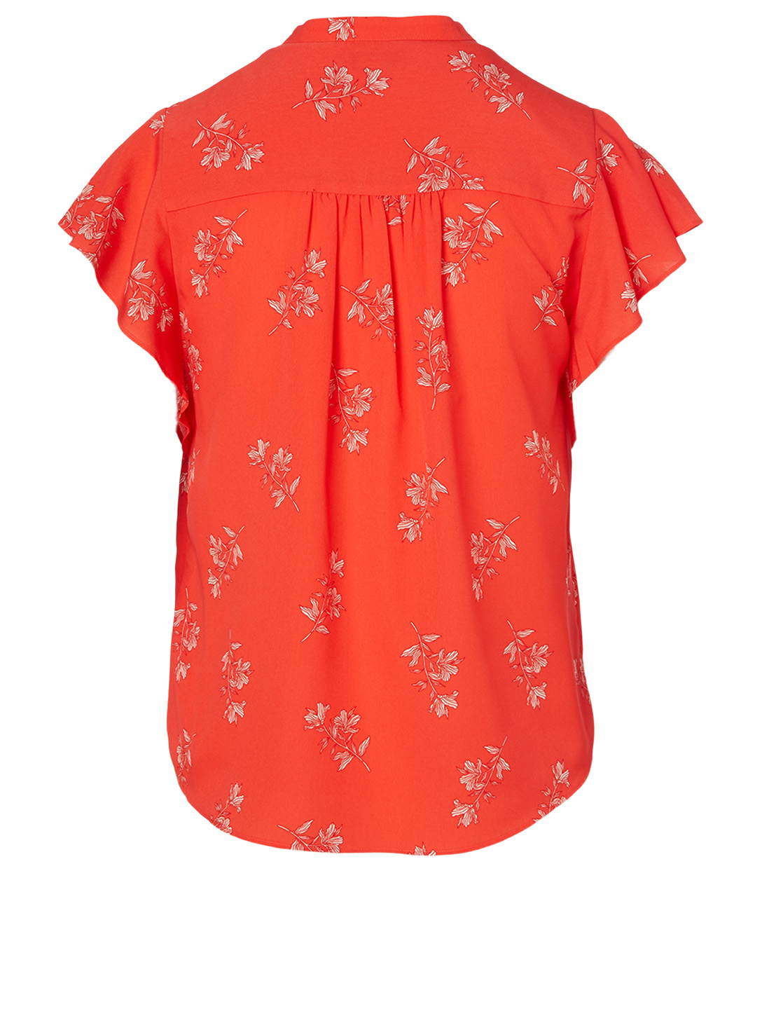 JOIE Marlina Top In Floral Print Women's Orange