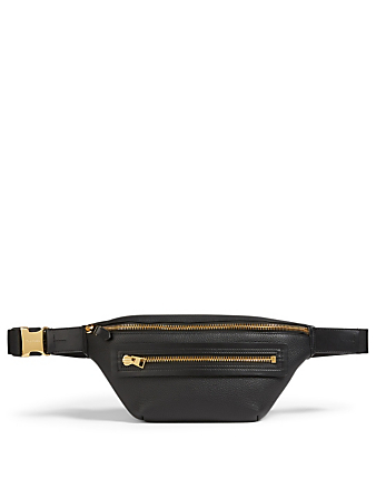 TOM FORD Leather Belt Bag Men's Black