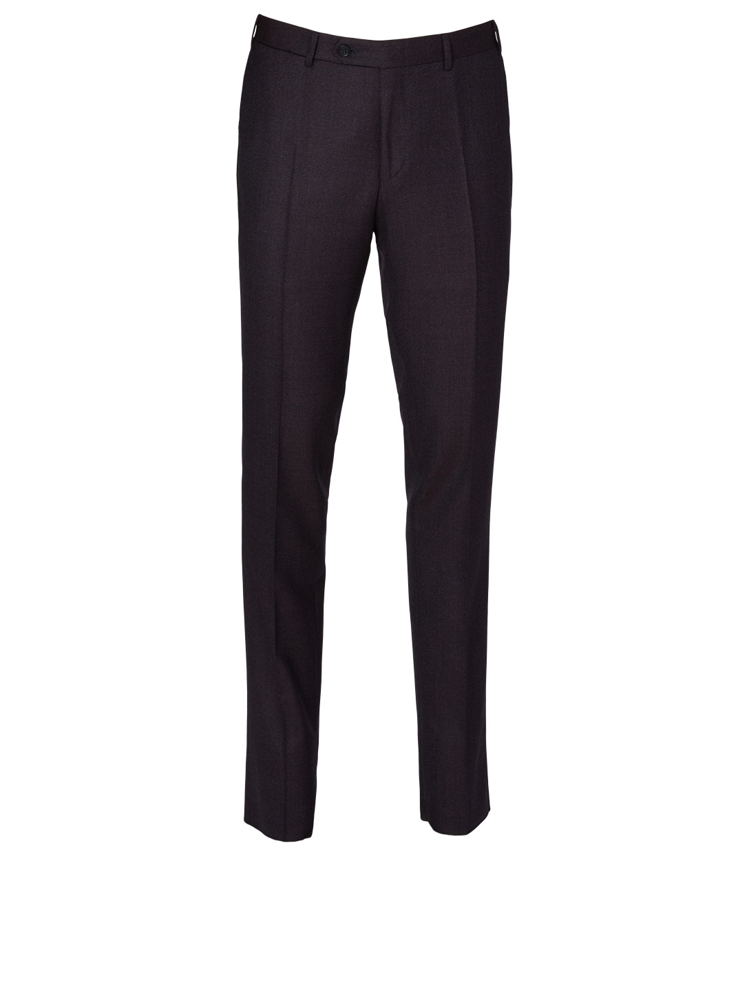 CANALI Textured Wool Pants Men's Purple