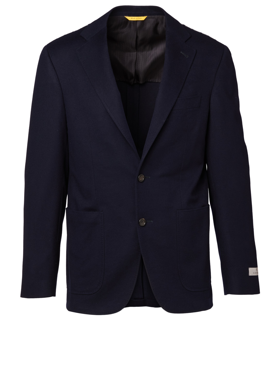 CANALI Wool Jacket Men's Blue
