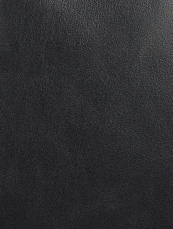 SAINT LAURENT City Leather Backpack Men's Black