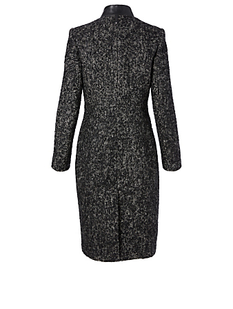 MACKAGE Bianca Wool-Blend Midi Coat Women's Multi