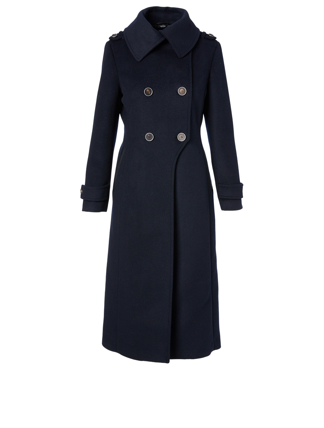 MACKAGE Elodie Wool Military Coat Women's Blue
