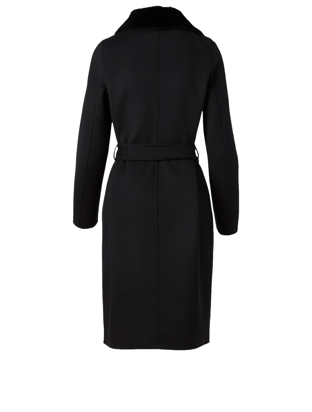 MACKAGE Sybil Wool Midi Coat Women's Black