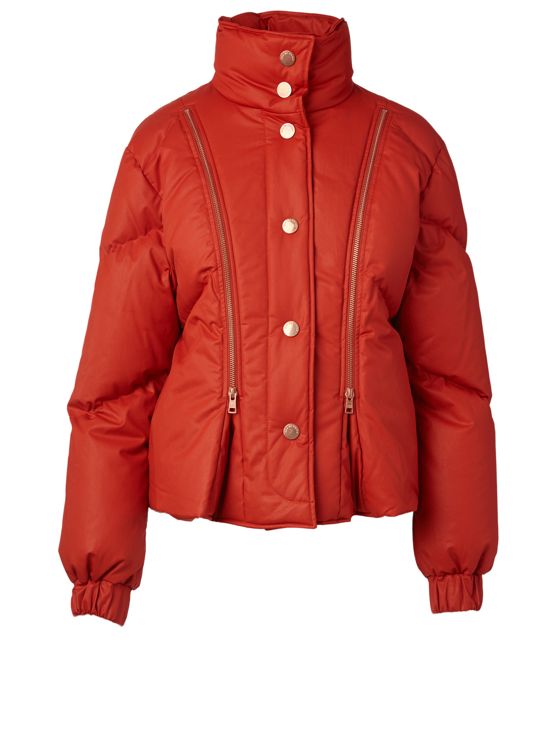 SEE BY CHLOÉ Quilted Puffer Jacket Women's Red