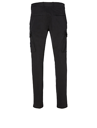 STONE ISLAND Slim Cargo Pants Men's Black