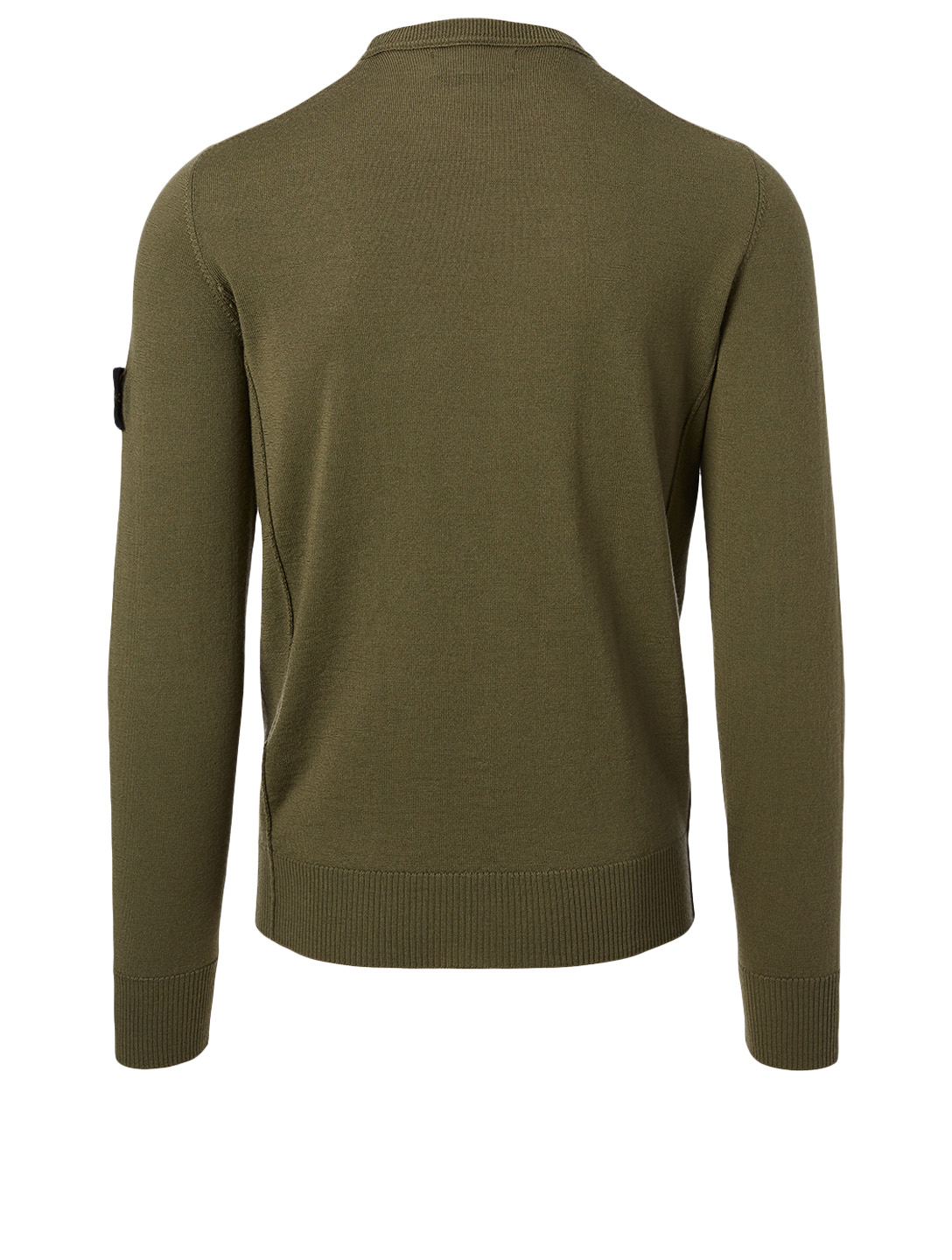 STONE ISLAND Wool Sweater Men's Green