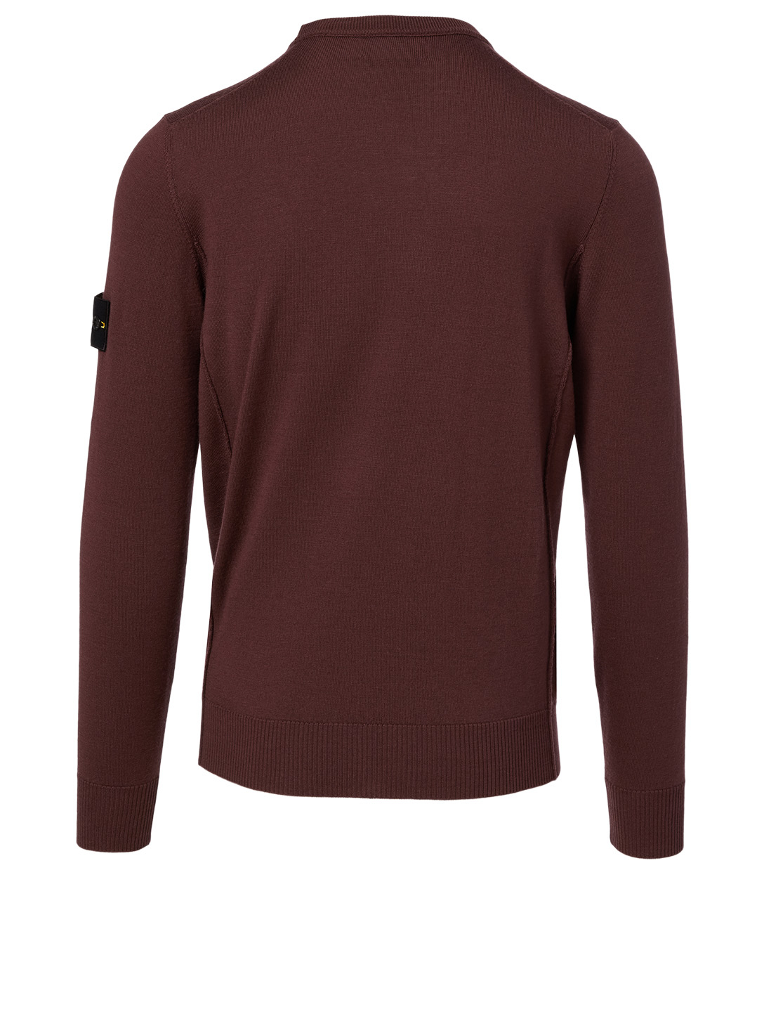 STONE ISLAND Wool Sweater Men's Red
