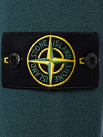 STONE ISLAND Stretch Wool Sweater Men's Green