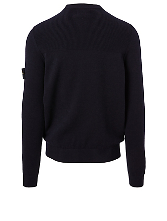 STONE ISLAND Pull en laine stretch Hommes