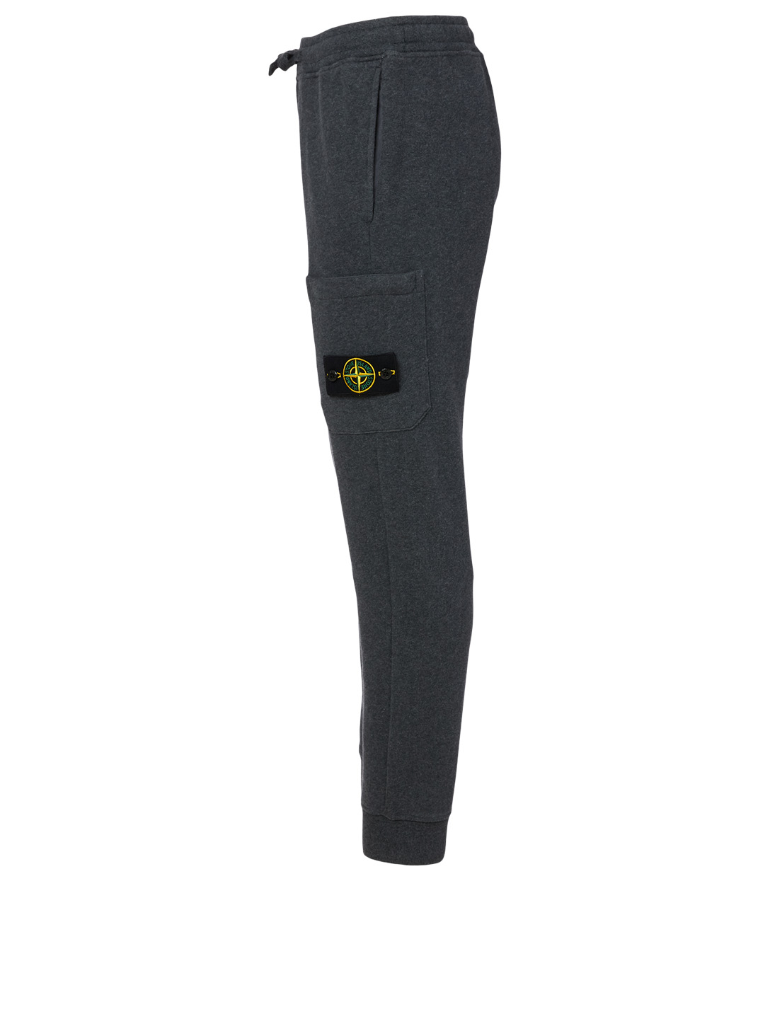 STONE ISLAND Cotton Jogger Pants Men's Black