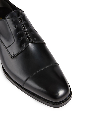 TOM FORD Gianni Leather Lace-Up Dress Shoes Men's Black