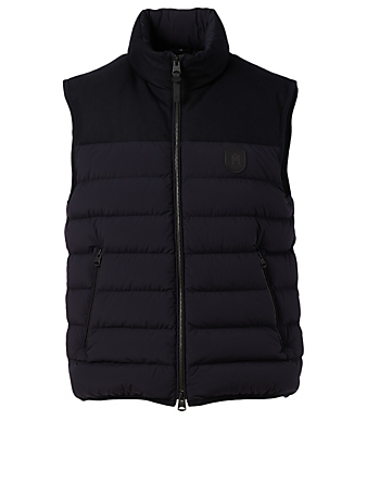 MACKAGE Liam Down Vest Men's Blue