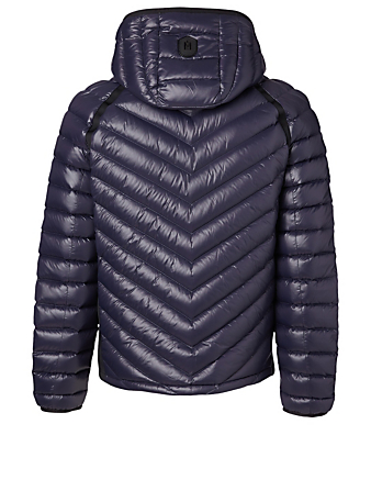 MACKAGE Maxim Down Jacket With Hood Men's Blue