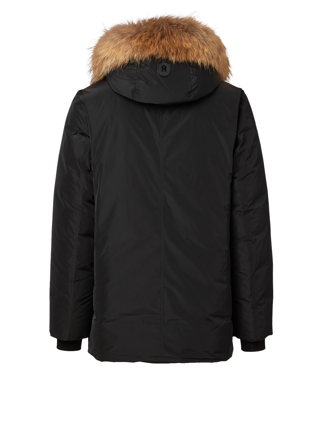 MACKAGE Raf Down Coat With Natural Fur Trim Men's Black