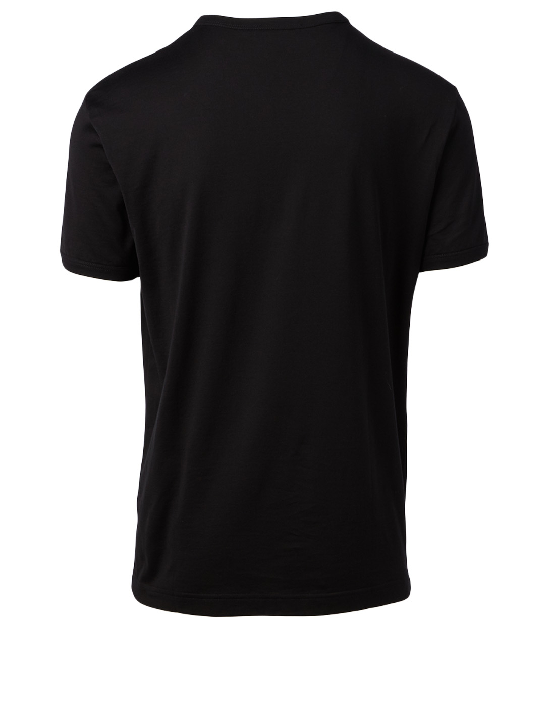 DOLCE & GABBANA Cotton Logo T-Shirt Men's Black