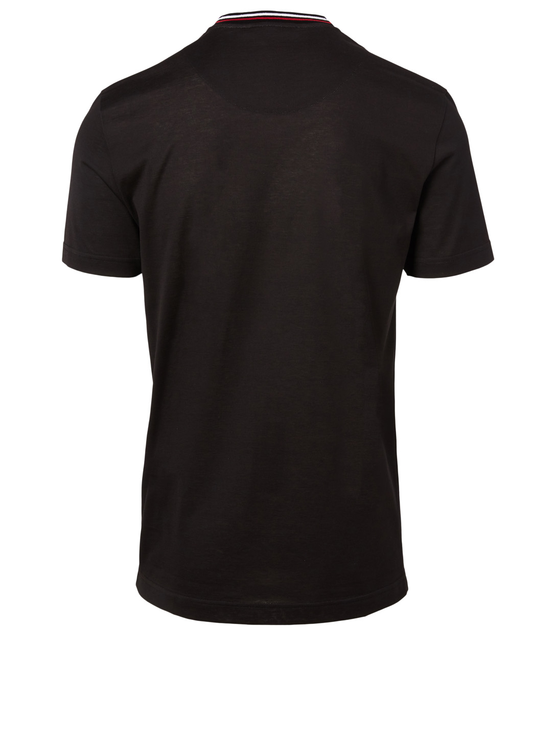 DOLCE & GABBANA Logo Cotton T-Shirt Men's Black