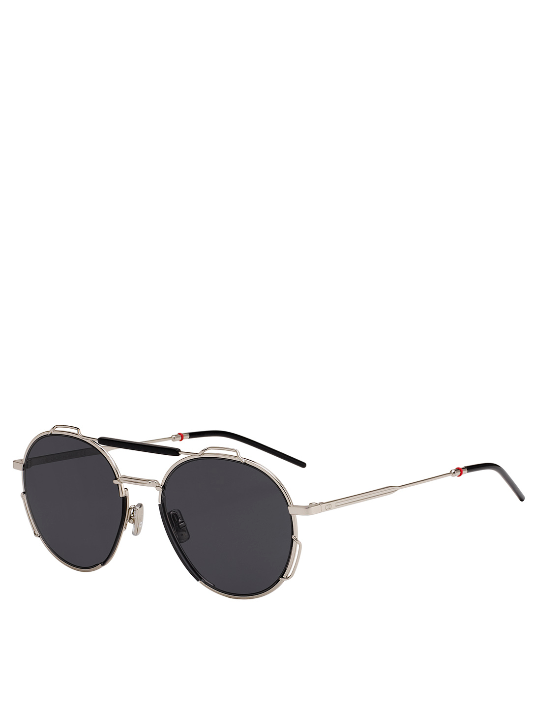DIOR Dior0234S Round Aviator Sunglasses Men's Black