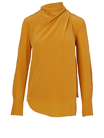 A.L.C. Sophie Silk Top Women's Yellow