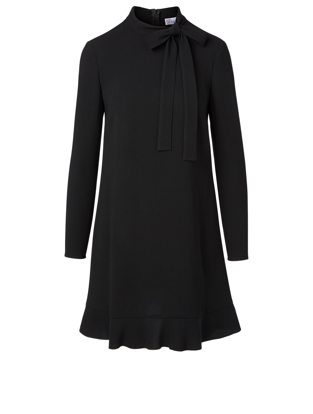 RED VALENTINO Robe à manches longues Femmes Noir