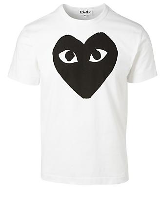 e049299a70b8 COMME DES GARÇONS PLAY Graphic Heart T-Shirt Men s Black ...