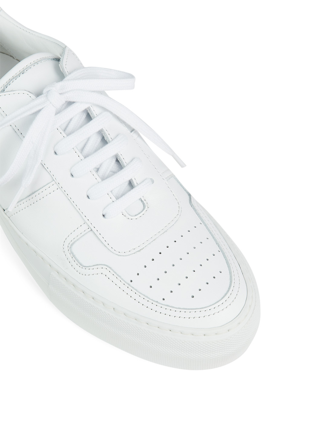 COMMON PROJECTS BBall Leather Super Sole Sneakers Women's White