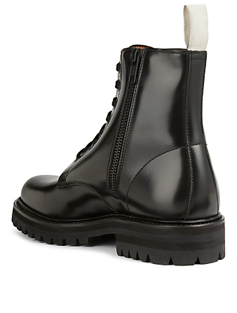 COMMON PROJECTS Standard Leather Combat Boots Women's Black