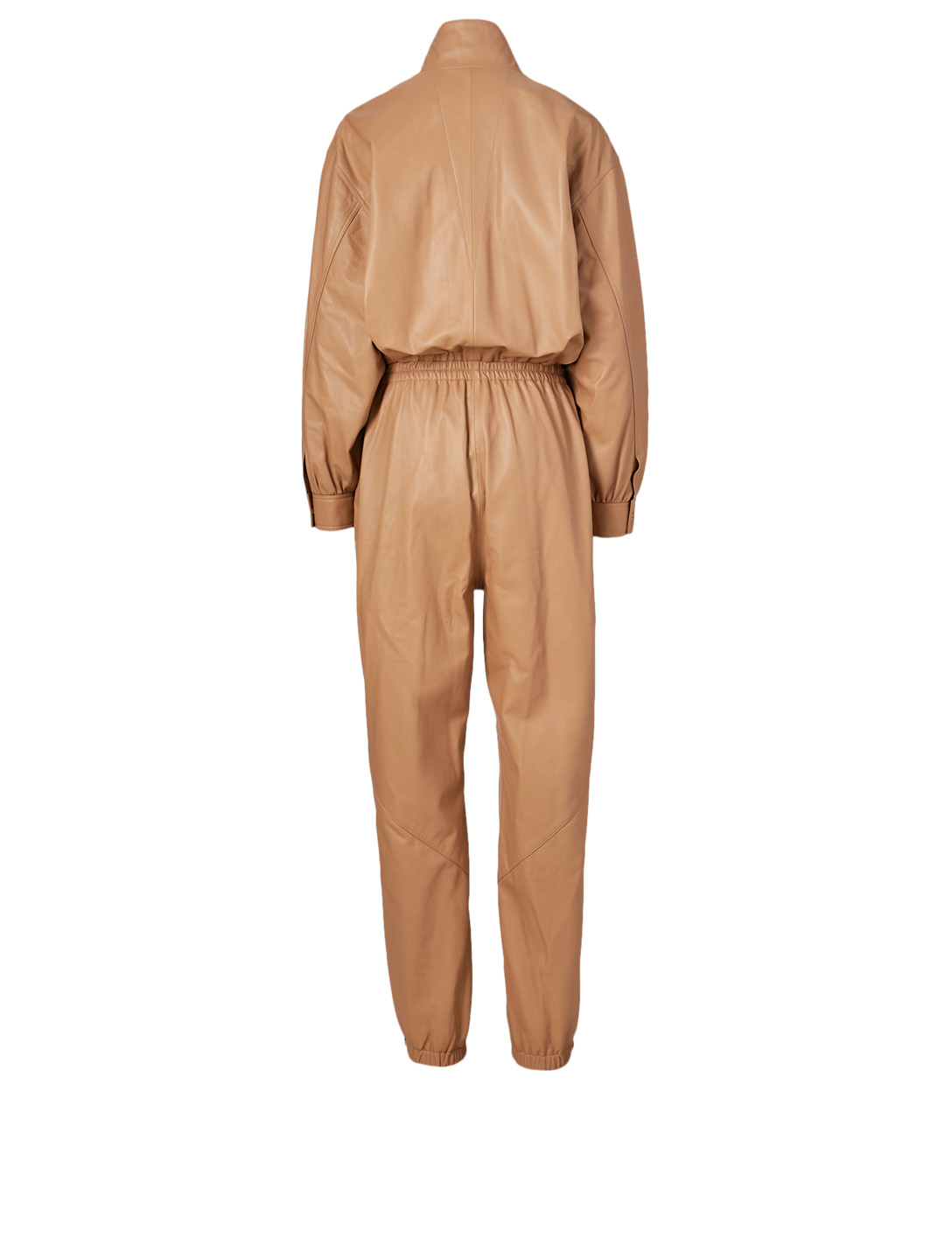 ZIMMERMANN Espionage Leather Boiler Suit Women's Neutral