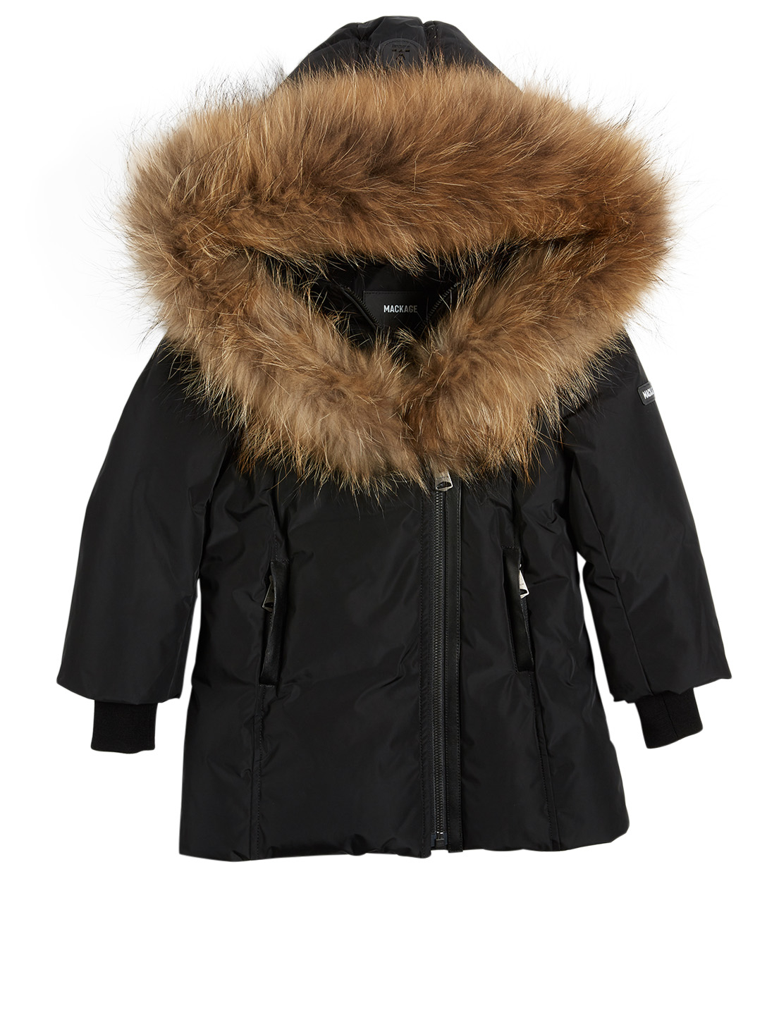 db7d0f42b MACKAGE Leelee Youth Down Coat With Fur Collar | Holt Renfrew