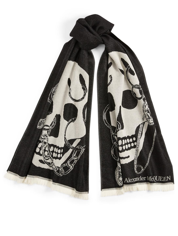 alexander mcqueen cheap scarf skulls 2774355891f utterly