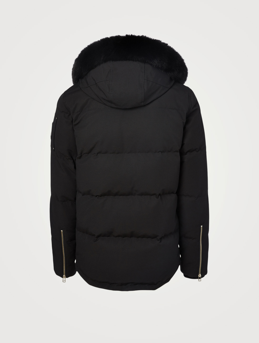 MOOSE KNUCKLES 3Q Jacket With Fur Hood Men's Black