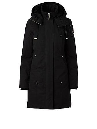 MOOSE KNUCKLES Longue Rive Down Parka Women's Black