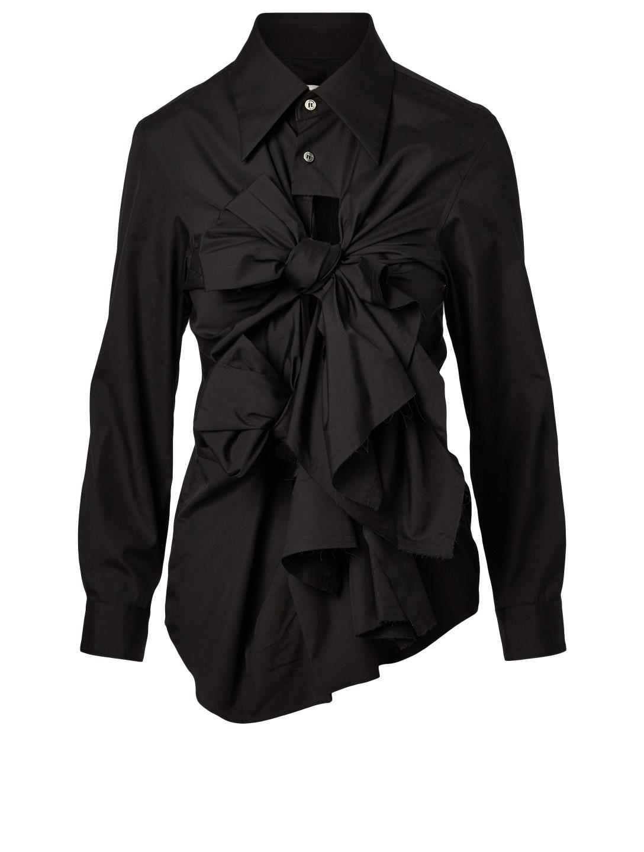 8b601b5c5a4 COMME DES GARÇONS Bow Tie Long-Sleeve Shirt | Holt Renfrew