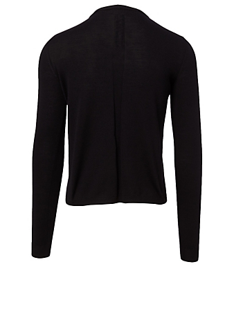 RICK OWENS Wool Bolt Sweater Men's Black