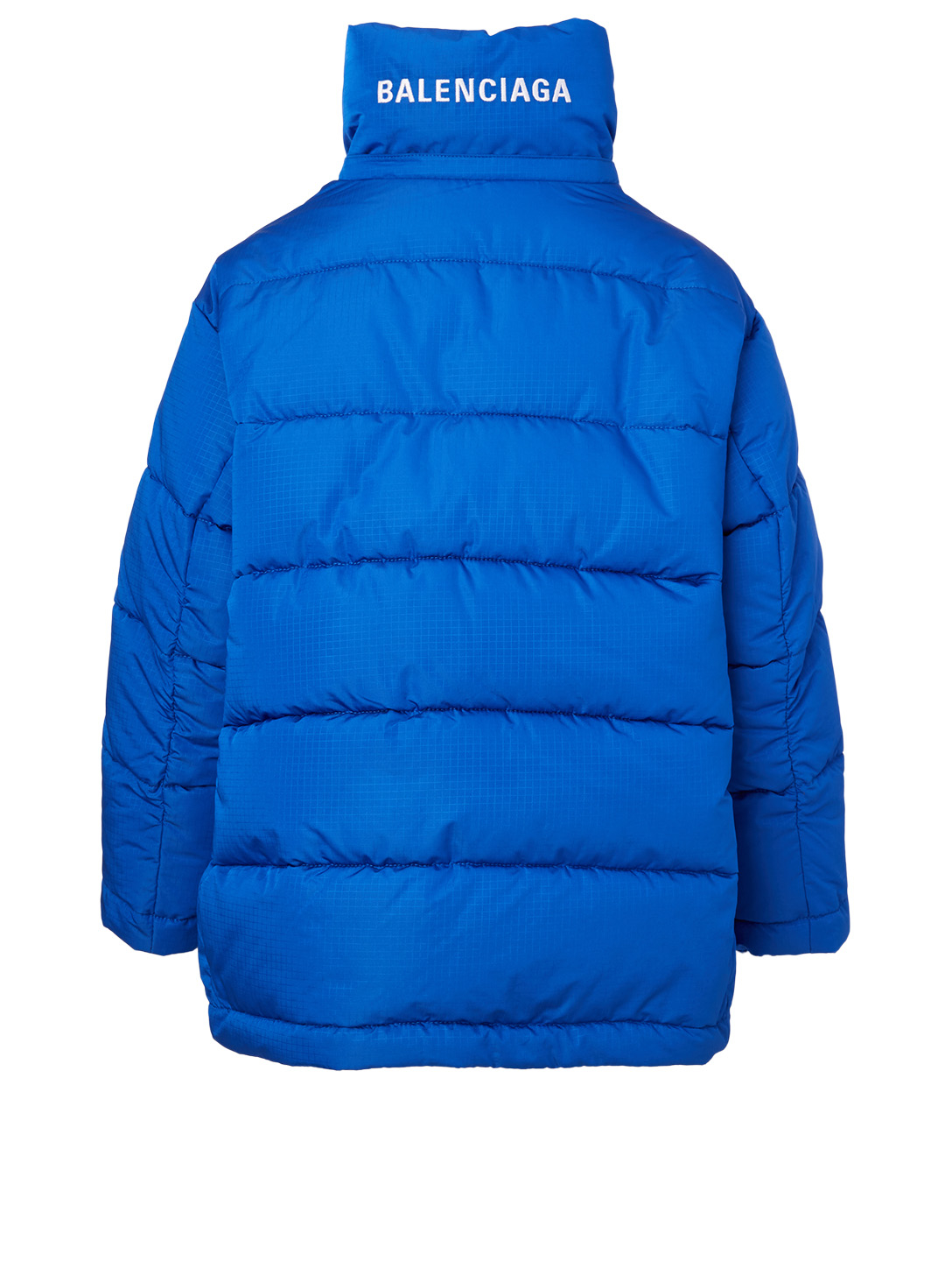 BALENCIAGA New Swing Puffer Jacket Women's Blue
