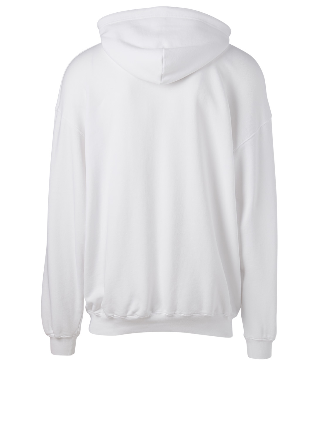 BALENCIAGA Cotton Logo Hoodie Women's White