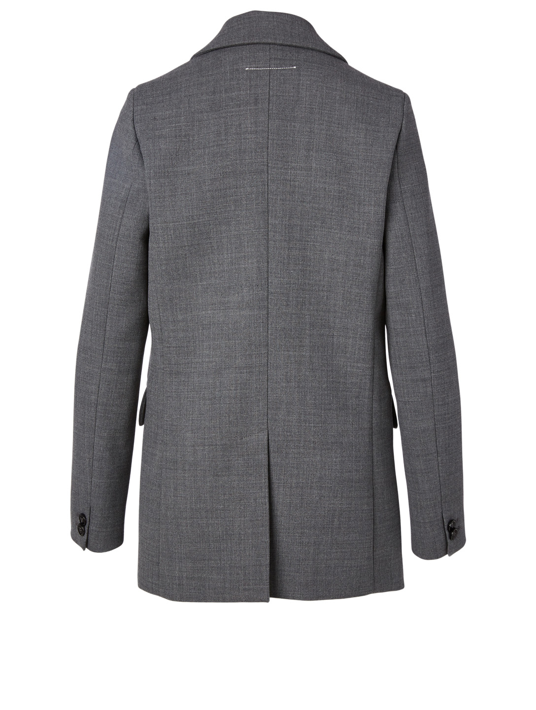 MM6 MAISON MARGIELA Wool-Blend Blazer Women's Grey